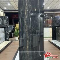 Gạch ấn độ 80x240 siêu đá bóng đen chất lượng cao mẫu mới tphcm
