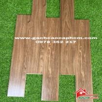 Mẫu gạch giả vân gỗ 15x80 lát nền phòng khách đẹp tốt bền nhất