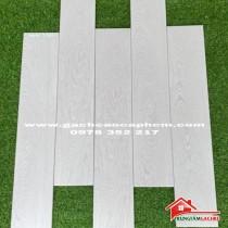 Gạch giả gỗ 15x80 mầu trắng nhập khẩu cao cấp giá rẻ