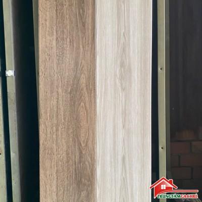 Gạch giả gỗ xám trắng 20x100 lát nền phòng ngủ đẹp