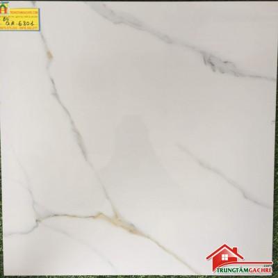 Gạch lát nền 60x60 FICO trắng vânđẹpQA6801