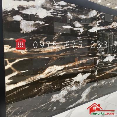 Gạch ấn độ 600x1200 vân tia sét bóng kiếng ốp lát mặt tiền nền nhà phòng khách đẹp
