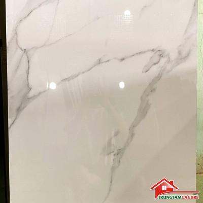 Gạch bóng kiếng 60x120 trắng vân ấn độ bền đẹp