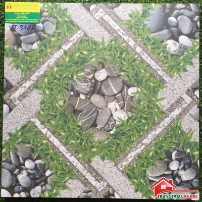 Gạch vitto 50x50 sân vườn, bề mặt sần chống trơn