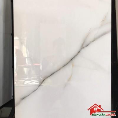 Gạch lát nền phòng khách 60x120 trắng vân ấn độ 6209E3