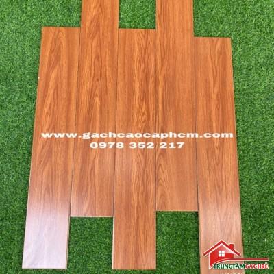Gạch lát nền giả gỗ vàng đỏ 15x90 cao cấp bán tại quận 7