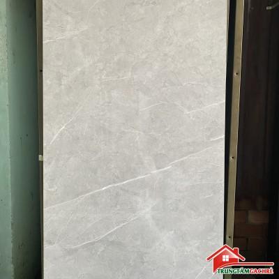Gạch khổ lớn màu xám vân 60x120 bóng kiếng mẫu xám đẹp