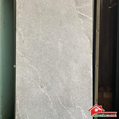Gạch 60x120 màu xám đồng chất bóng kiếng chựu lực chống trầy