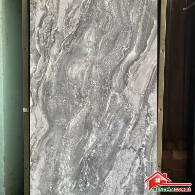 Gạch vân giả đá xám 60x120 vân ngẫu nhiên bóng kiếng đẹp