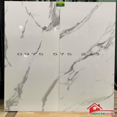 Gạch 60x120 đá bóng kiếng trắng vân xám giá sale rẻ tại tphcm