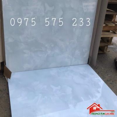 Gạch giảm giá 60x60 màu xanh bóng kiếng đẹp