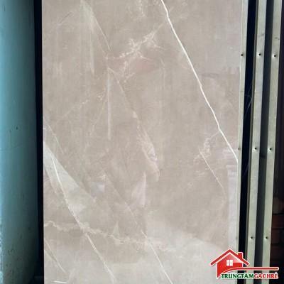Gạch ấn độ 60x120 nâu xám bóng kiếng