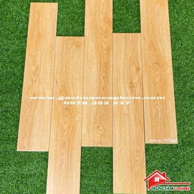 Gạch giả gỗ thanh 15x80 mờ chống trơn giá tốt