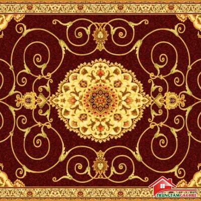 Gạch thảm tiền sảnh trang trí 5D đẹp 65AH