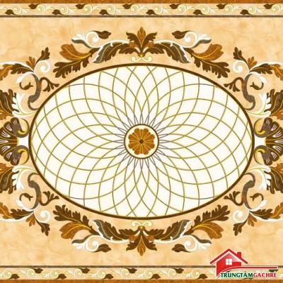Gạch thảm tiền sảnh trang trí 5D đẹp 66AH