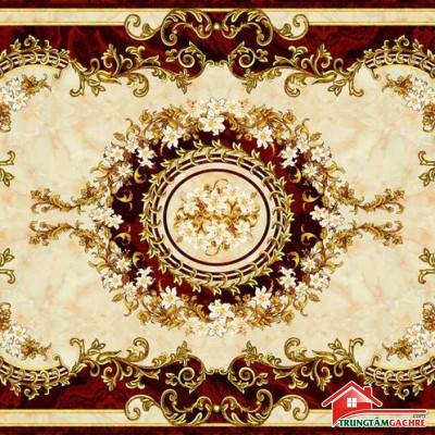 Gạch thảm tiền sảnh trang trí 5D đẹp 68AH