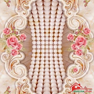 Gạch thảm tiền sảnh trang trí 5D đẹp 71AH