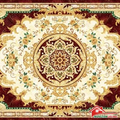 Gạch thảm tiền sảnh trang trí 5D đẹp 75AH