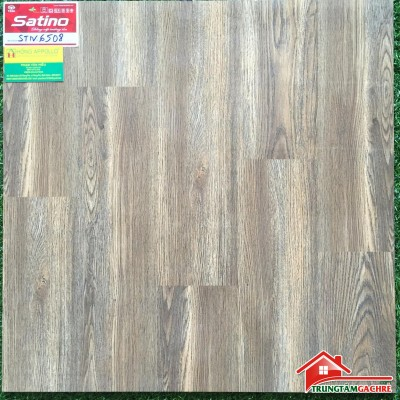 Gạch lát nền giả gỗ 60x60 bóng kiếng tasa, 6508