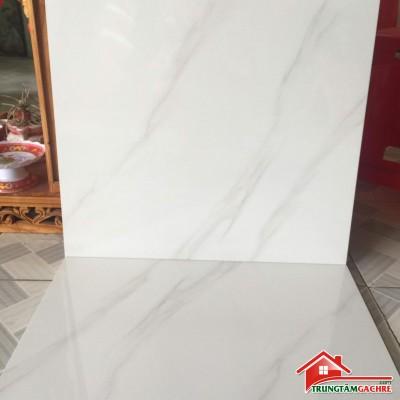 Gạch lát nền giá rẻ 60x60 bóng kiếng cmc .68012